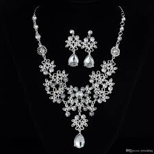 black rhinestone necklace images Luxury crystal rhinestone necklace jewelery accessories bridal jpg
