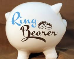 Piggy Bank Favors Honeymoon Fund Decal Etsy