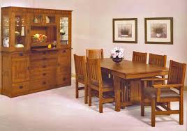 mission style dining room set trend manor furniture mission series