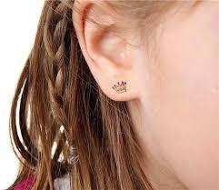 earrings girl b ink d temporary tattoo earrings for who aren t