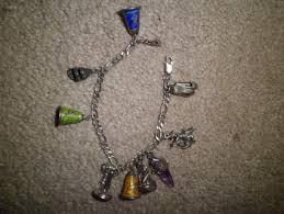 solid sterling silver charm bracelet images Free solid sterling silver charm bracelet w vintage sterling png