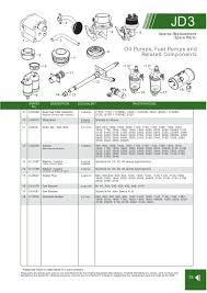 john deere engine replacement parts page 49 sparex parts lists