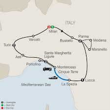 Map Of Portofino Italy by Northern Italy U0027s Highlights U0026 Cinque Terre With Milan Expo