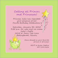 birthday invitation words princess birthday invitation words digiclick co