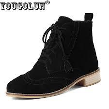 Black Suede Ankle Boots Low Heel Online Get Cheap Black Suede Ankle Boots Aliexpress Com Alibaba
