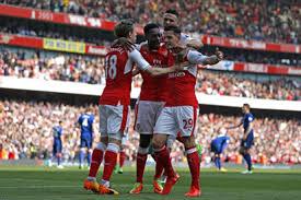 spanish premier league table arsenal move up 5th on english premier league table vanguard news
