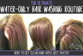 Shoo Hair the ultimate water only hair washing routine no shoo just