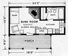 Tiny House Floor Plan Maker 12 X 24 Cabin Floor Plans Google Search Cabin Coolness
