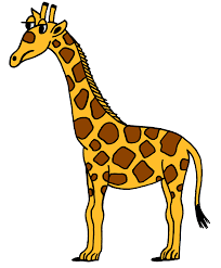 giraffe clipart outline inlors free clipart design download