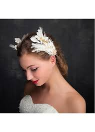 hair ornaments buy discount in stock fantastic alloy feathers wedding hair