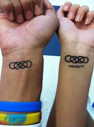heartbeat tattoo with infinity heartbeat tattoo for couple creativefan