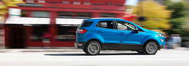 small ford cars the wee little ecosport is ford u0027s new small suv the verge