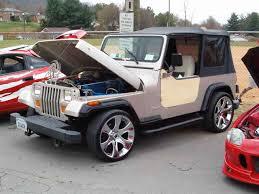 slammed jeep wrangler jeep lol