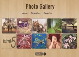 photo gallery blogger template lovely templates