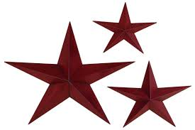 amazon com deco 79 metal star 36 inch 24 inch and 18 inch set