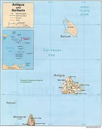 Caribbean Islands Map by Map Of Anguilla Barbuda Caribbean Islands