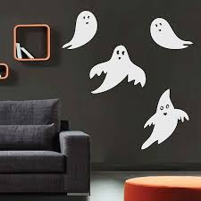 halloween ghost wall and window decals trendy wall designs