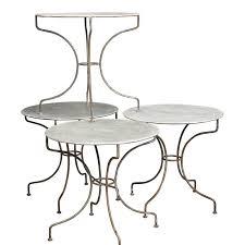Zinc Bistro Table Mikey Zinc Bistro Tables Found Vintage Rentals