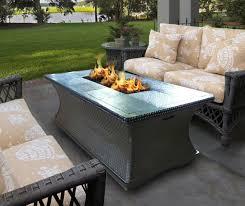 furniture home outdoor napoleon square propane fire pit table