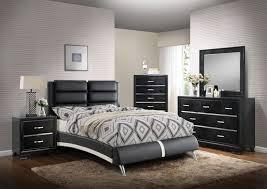 King Platform Bedroom Set by Black Platform Bedroom Set F9340 Poundex