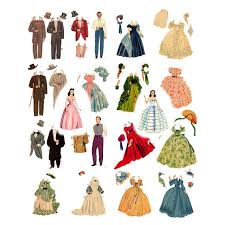 printable paper dolls gone with the wind printable paper dolls hollywood movie memorabilia