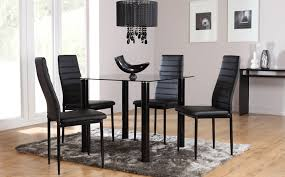 Small Glass Dining Room Tables Tips To Choose Glass Dining Room Sets That Fit You Best Lgilab