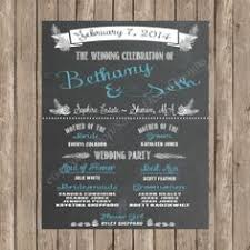 Wedding Program Chalkboard Sweet Chalkboard Wedding Invitation Suite Wedding Pinterest