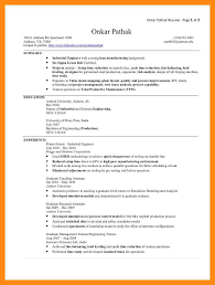 8 sample industrial engineer resume dtn info