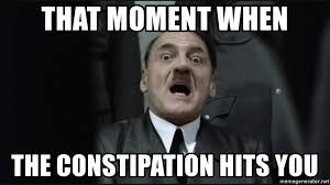 Downfall Meme - that moment when the constipation hits you hitler downfall