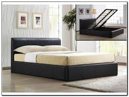 white king size storage bed beds home design ideas