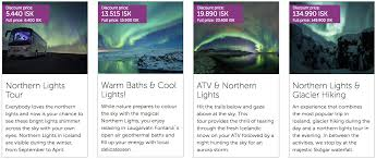 atv northern lights tour iceland northern lights sale west coast canada to iceland from just 321