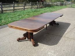 extending pedestal dining table antique furniture warehouse large antique extending pedestal table