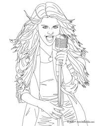 coloring pages of people selena gomez coloring pages coloring pages printable coloring