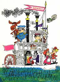 the rocky and bullwinkle show steamboats com online museum dave thomson wing