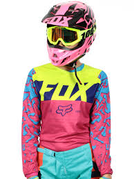 womens motocross jersey fox pink 2016 180 womens mx jersey fox freestylextreme america