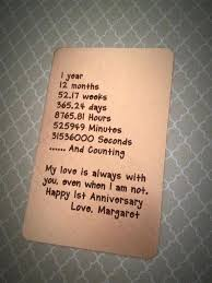 1 year wedding anniversary gifts for him 1 year wedding anniversary present for him e1 year wedding