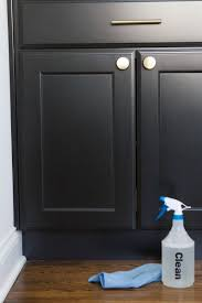 how to clean ikea black kitchen cabinets how to clean kitchen cabinets the diy playbook