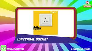 electrical switches u0026 sockets by legrand india mumbai youtube