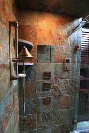 Slate Tile Bathroom Shower Luxurius Slate Tile In Bathroom Shower Also Create Home Interior