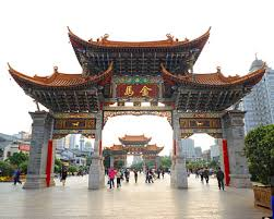 dusty china kunming china a previously dusty city in the south is now a