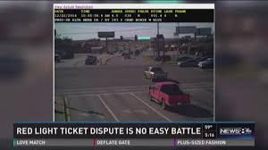red light ticket video wfaa com hard fought battle over red light ticket for kemp woman