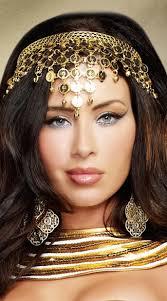 goddess headband coin crown headband goddess headpiece