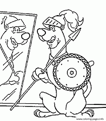 scooby doo printable coloring pages scooby as knight scooby doo 382b coloring pages printable