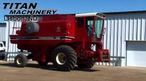 I H C 1460 Combine For Sale Youtube