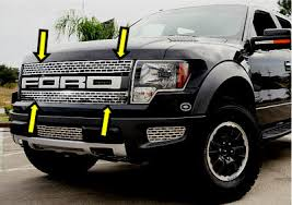 ford truck grilles ford raptor parts and accessories store front grille and trim