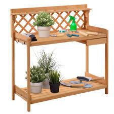 Wooden Potting Benches Potting Bench Ebay