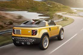 convertible land rover discovery land rover dc100 and dc100 sport pictures and details autotribute