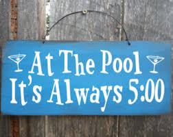 signs and decor swimming pool decor backyard decor outdoor signs pool towel