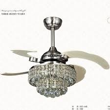 Ceiling Fan Crystal by 33w Led Lights Ceiling Fans Remote Control Folding Ceiling Fan