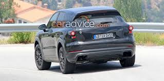 2018 porsche cayenne spied in winter testing update photos 1